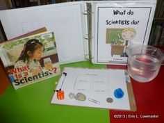 Kindergarten science experiment - sink or float  What is a Scientist?