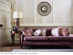 Leonida: adembenemend prachtbehang en schitterend fluweel van Harlequin