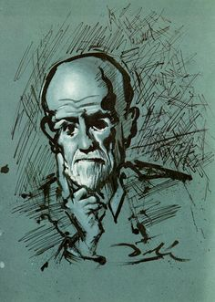 S. Freud par Dali ( ca 1938 )