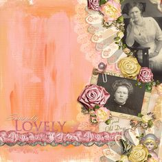 ScrapSimple Embellishment Templates: Ribbon Roses, designed by Angela Blanchard, Scrap Girls, LLC digital scrapbooking product designer