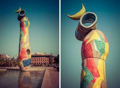Miró artwork in Barcelona