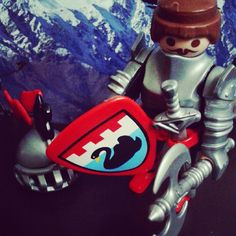 Playmobil Knight #playmobil #knight #troop #army #swan #weapons #shield #toyfigures #helmet #toys #plasticfigures #germany #deutschland #usa #Castle #Germaninventor #playmobiltoys #german #imagination