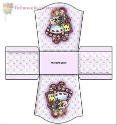 Miniature Printables - Rag Dolls Box.