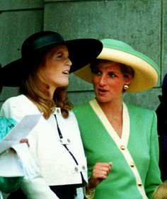 Diana and Sarah, Duchess of York