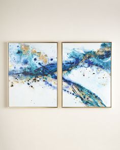 """Two """"Azure Canyon"""" Giclees"""