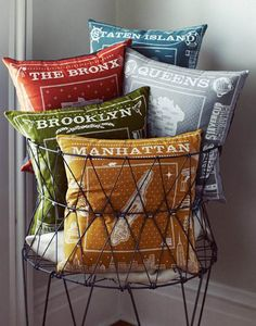 New York Pillows