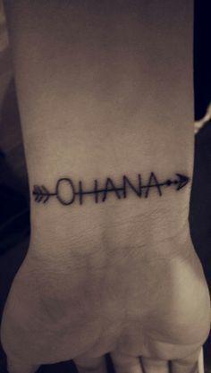 ohana tattoo - Google Search