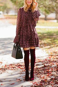 7 Fall Outfits to Wear If You're Not Ready for Pants Yet via @PureWow