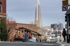 Cable Car, Nob Hill San Francisco