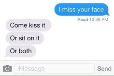 Text Message Relationship Goals