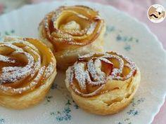 Rosas de manzana y hojaldre, Receta Petitchef