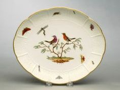 Plate LUDWIGSBURG POTTERY AND PORCELAIN FACTORY (GERMAN, 1758–1824) C. 1760