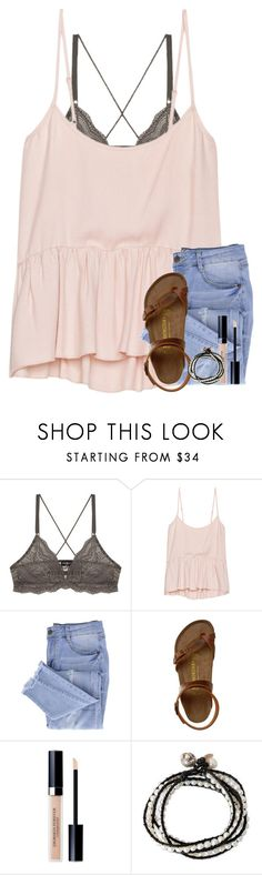 """""""see good in all things :)"""" by classyandsassyabby ❤ liked on Polyvore featuring Cosabella, Talula, Essie, Birkenstock, Christian Dior and NOVICA"""