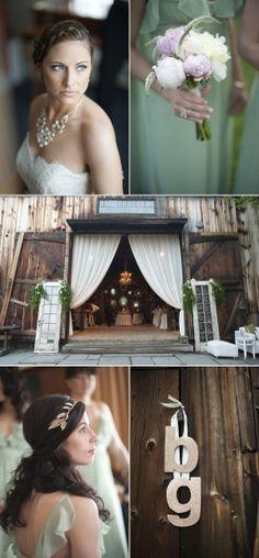 Webb Barn Wedding by Justin & Mary + Ryan Designs + Jessica Country Flowers