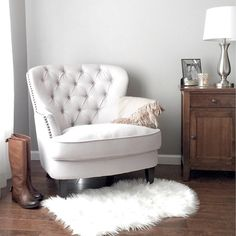 "651 Likes, 73 Comments - Aedriel® at Home (@aedriel) on Instagram: ""This arm chair is at @jossandmain right now for $250!!! Search 'Tafton Arm Chair' on their site.…"""