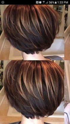 Hairstyles For Medium Length Hair Thin Ideas Highlights Ideas Short Hair With Layers, Short Hair Cuts For Women, Layered Hair, Medium Hair Styles, Short Hair Styles, Brown Hair With Highlights, Hair Affair, Brunette Hair, Great Hair