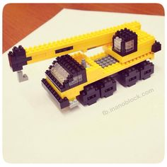 nanoblock Crane ... http://fb.inanoblock.com for more