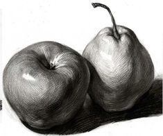 19 Ideas fruit sketch drawing still life Object Drawing, Drawing Artist, Painting & Drawing, Academic Drawing, Drawing Studies, Pencil Art Drawings, Drawing Sketches, Drawing Ideas, Sketching