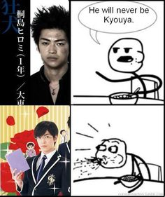 Hahaha yes, he's a perfect match for kyouya in the live action OHSHC (Daito Shunsuke)