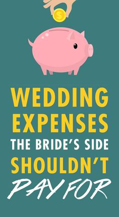 An expensive wedding gown. If you're a fancy pants bride and want to wear a designer dress, it is not reasonable to expect that your parents will pay for it--especially if they haven't budgeted for it. Vera Wang and other designer wedding dresses can cost upwards of $10,000, and if you're parents only budgeted for a $1,000 or less for the dress, than you'll need to cover the additional cost yourself.