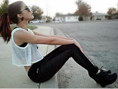 Image about girl in Outfits👗👠👜💄 by Rocio Linck Rivera Edgy Outfits, Cute Outfits, Fashion Outfits, Fashion Ideas, Soft Grunge, Fashion Killa, Fashion Beauty, Fashion Addict, Women's Fashion
