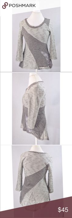 """NWT anthropologie angel of the north gray sweater New with tags. So cozy!!! 30"""" L in the back 28"""" L in the front 18"""" pit to pit Anthropologie Sweaters"""