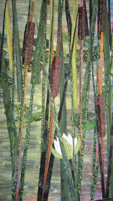 Barbara Strobel Lardon Art quilts: Nature / modern quilts / contemporary quilts / textile art