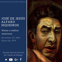 #UnDíaComoHoy pero de 1896, nació en Camargo Chihuahua, José de Jesús Alfaro Siqueiros, más conocido como David Alfaro Siqueiros, considerado uno de los tres grandes exponentes del muralismo mexicano. #HistoriaDeMéxico #ELDEH #ConoceTuHistoria