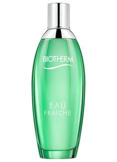 Biotherm Eau Fraiche ~ New Fragrances 2014. Smells like pear, coriander, jasmine.
