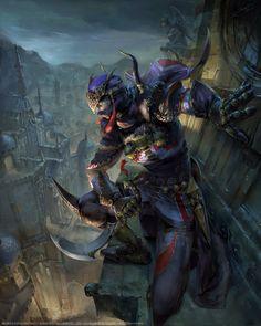 Mobius Final Fantasy Assassin by yuchenghong.deviantart.com on @DeviantArt
