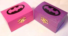 Batgirl Engagement Ring Box Superhero Miniature 3 by SuperCrafters