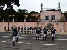 Changing of the guard ceremony, Belém Palace, #Lisbon #Portugal