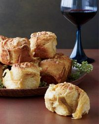 Parker House Rolls Topped with Cheddar and Old Bay Recipe on Food & Wine