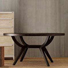 """Great architecture dining table. 42"""" $399; 60"""" 499"""