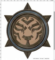 World of Warcraft Shado-Pan Tiger Symbol Machine Embroidery Design by LightsOutCreations on Etsy