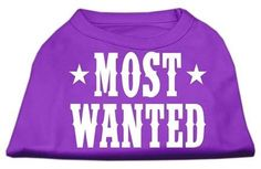 Most Wanted Screen Print Shirt Purple XS (8)