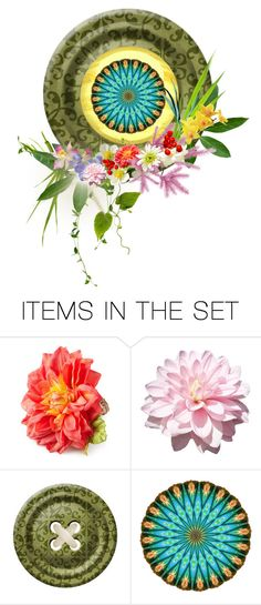 """""""Circle I"""" by sowana3 ❤ liked on Polyvore featuring art"""
