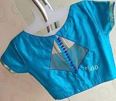 Latest boat neck blouse designs - The Handmade Crafts - Latest boat neck blouse. - Latest boat neck blouse designs – The Handmade Crafts – Latest boat neck blouse designs – Th - Simple Blouse Designs, Stylish Blouse Design, Blouse Back Neck Designs, Fancy Blouse Designs, Simple Blouse Pattern, Indian Blouse Designs, Blouse Neck Patterns, Choli Designs, Sari Design