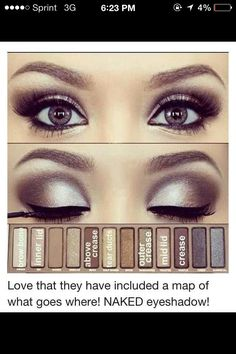 Beautiful How To Apply Eyeshadow