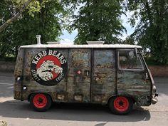 My kerb bears street food van
