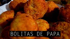 BOLITAS DE PAPA | RECETA // FRIED POTATO BALLS | RECIPE