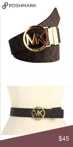 New Michael Kors Women Brown Belt Michael Kors Women Belt Color: Brown  Size: S M L XL Michael Kors Accessories Belts