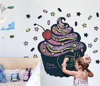 Bolo quadro berçário adesivo de parede para crianças quarto decorativa Adesivo de Parede vinil removível Decalque Tamanho 43 * 50 centímetros