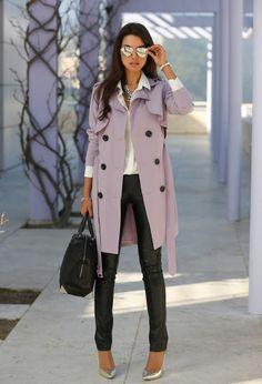 Piper Dixon - fall trends, pastel coats