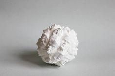 home decor ball face sculpture papier mache by popRenaissance