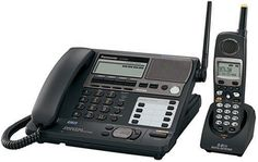 Panasonic KX-TG4500B 5.8 Ghz 4-Line FHSS Expandable Corded/Cordless Phone with Answering System, Black, 1 Handset by Panasonic. $349.98. From the Manufacturer                 The Panasonic KX-TG4500B is a 5.8 GHz 4-line expandable cordless phone system. Our 5.8 GHz Frequency-Hopping Spread Spectrum technology operates on a different wavelength with much less traffic than the 2.4 GHz technology while maintaining the great security, incredible clarity and long range. Have ...