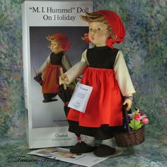 """On Holiday 15"""" Hummel 350 Doll SOLD"""