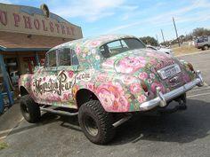 Magnolia Pearl Art Car