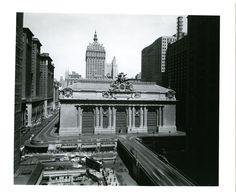 Grand Central before the PanAm building!