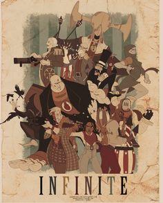 Bioshock Infinite (DreamWorks-style Fan Art)